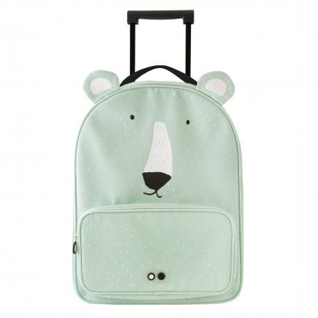 Mr. Polar Bear Travel Trolley
